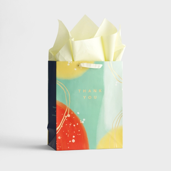 Thank You - Large Gift Bag with Tissue