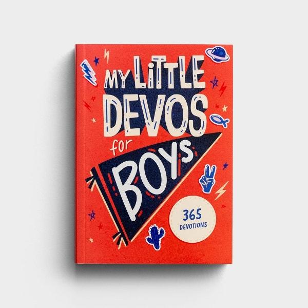 My Little Devos for Boys - 365 Devotions for Kids
