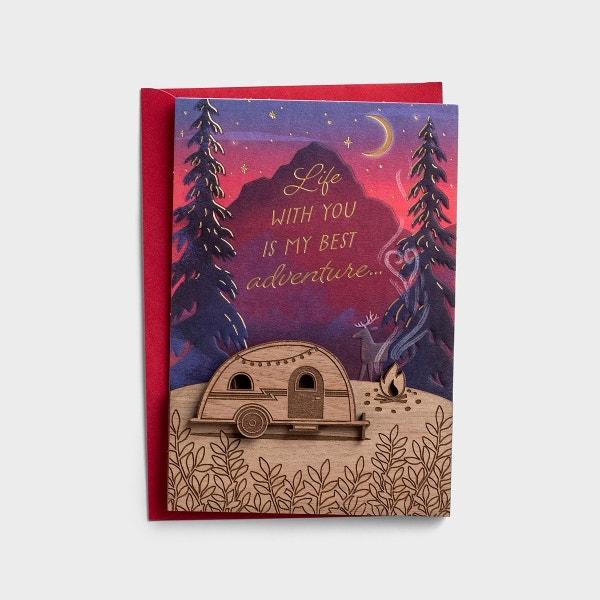 Valentine's Day - One I Love - My Best Adventure - 1 Premium Card