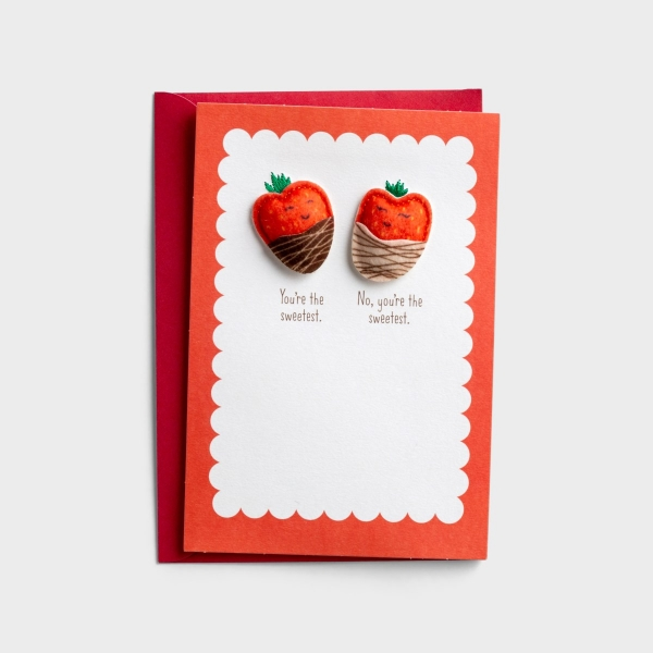 Valentine's Day - We're The Sweetest - 1 Premium Card