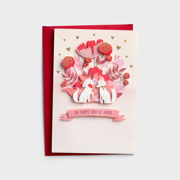 Valentine's Day - Wife - So Yappy You're Mine - 1 Premium Card