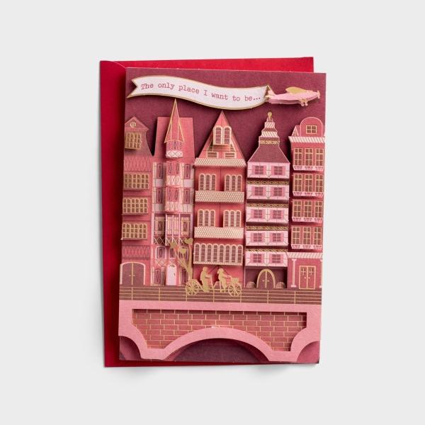 Valentine's Day - One I Love - Where You Are - 1 Premium Card