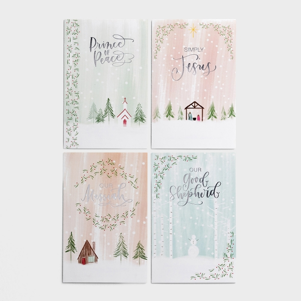 Names of Jesus - 60 Christmas Boxed Cards