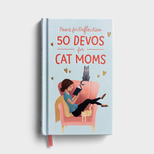 Paws for Reflection: 50 Devos for Cat Moms - Gift Book