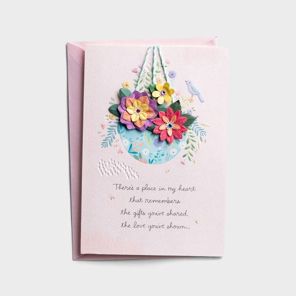 Mother's Day - A Place In My Heart - 1 Premium Card