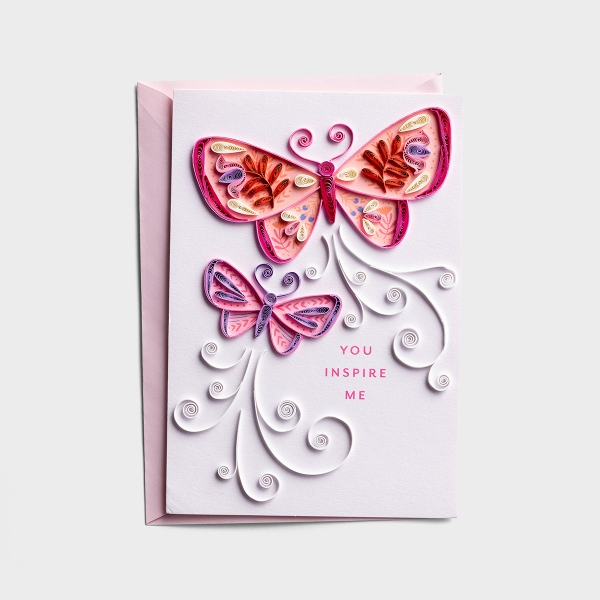 Mother's Day - You Inspire Me - 1 Premium Card