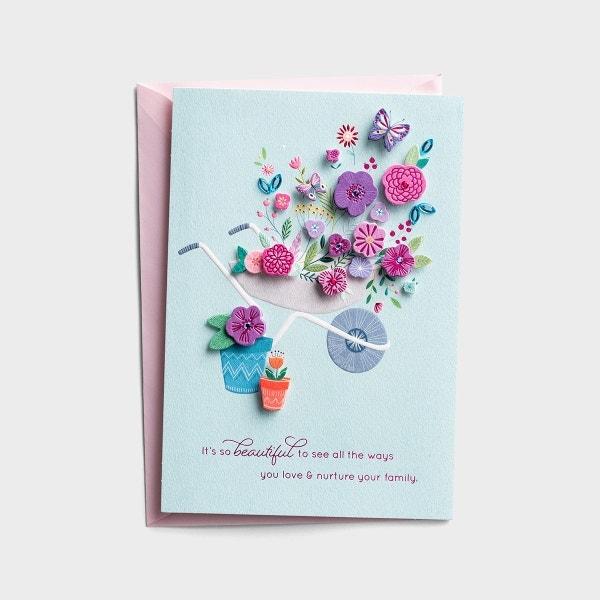 Mother's Day - Love & Nurture - 1 Premium Card