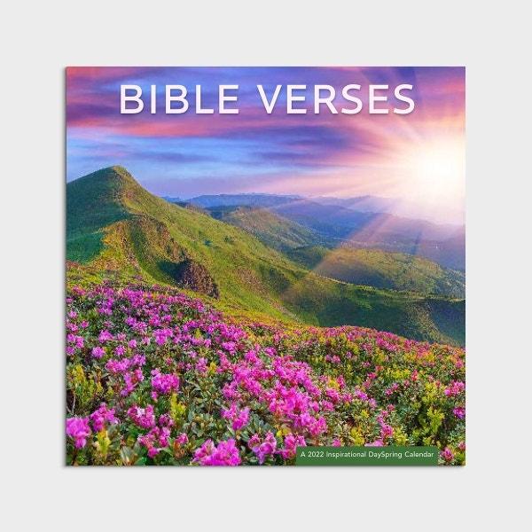 Bible Verses - 2022 Wall Calendar