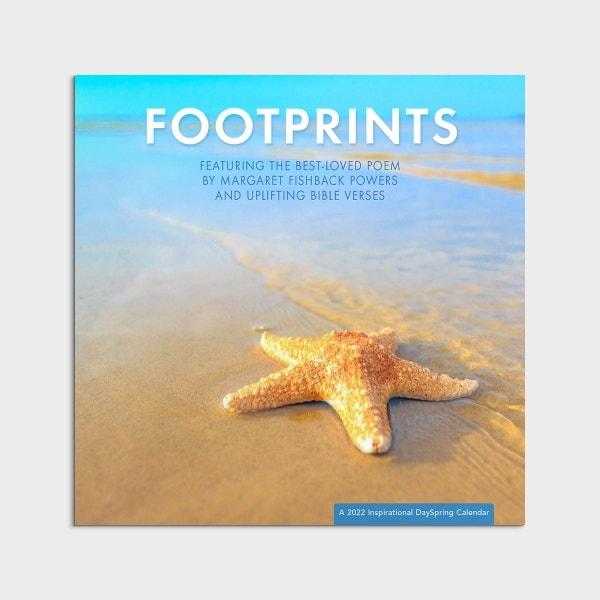 Footprints - 2022 Wall Calendar