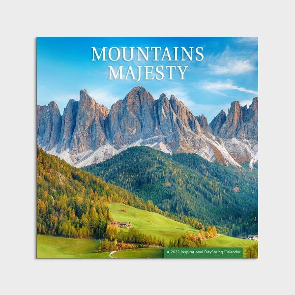 Mountains Majesty - 2022 Wall Calendar
