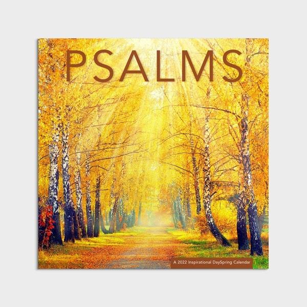 Psalms - 2022 Wall Calendar