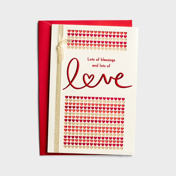 Valentine's Day - For Anyone - Lots of Love - 1 Card