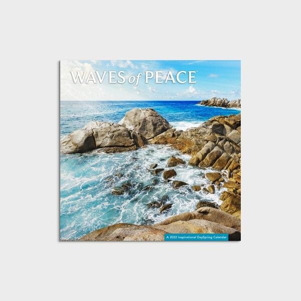 Waves of Peace - 2022 Mini Wall Calendar
