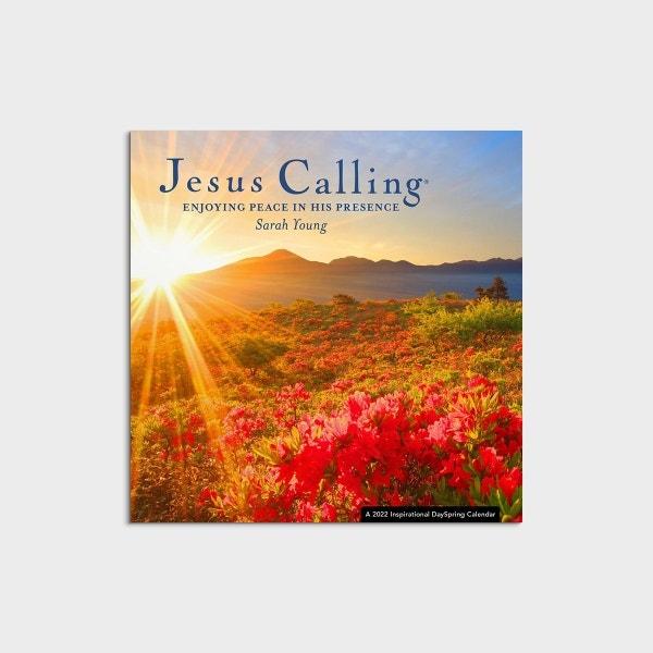 Sarah Young - Jesus Calling: Enjoying Peace in His Presence - 2022 Mini Wall Calendar