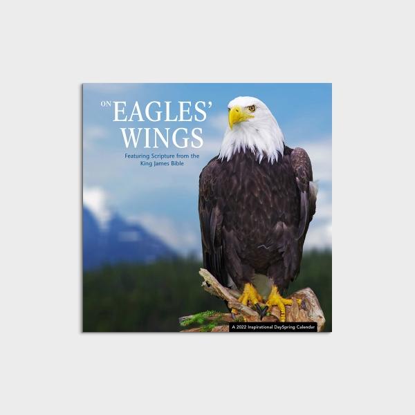 On Eagles' Wings - KJV - 2022 Mini Wall Calendar