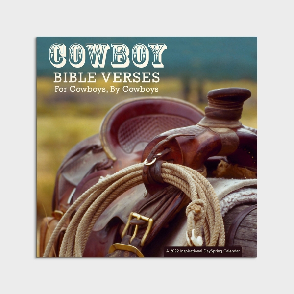 Kevin Weatherby - Cowboy Bible Verses: For Cowboys, By Cowboys - 2022 Wall Calendar
