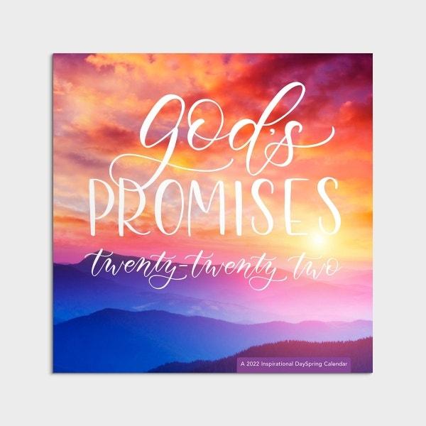 God's Promises - 2022 Wall Calendar