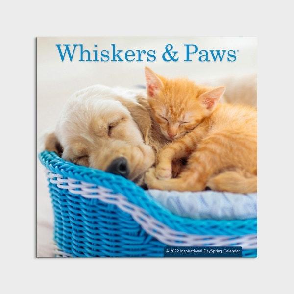 Whisker & Paws - 2022 Wall Calendar