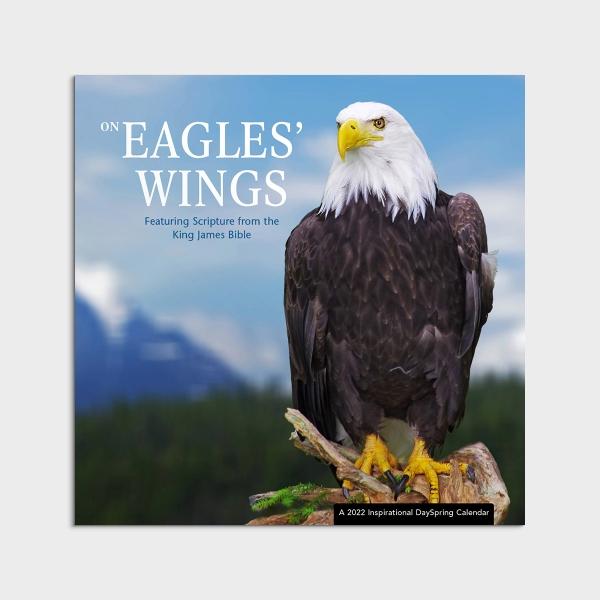 On Eagles' Wings - KJV - 2022 Wall Calendar