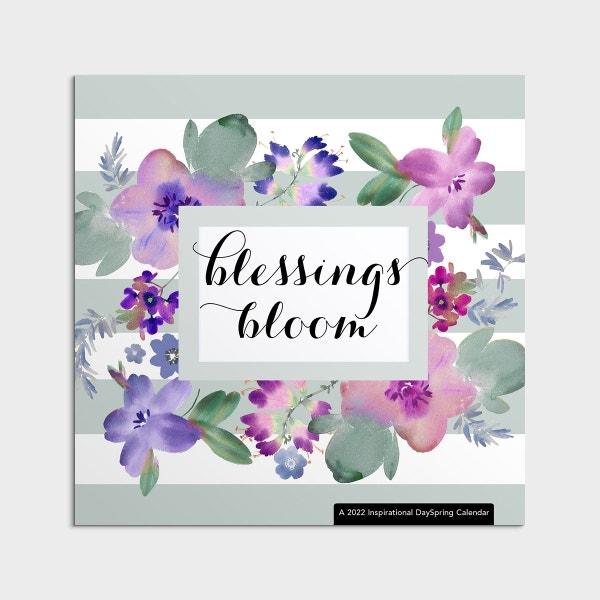 Blessings Bloom - 2022 Wall Calendar