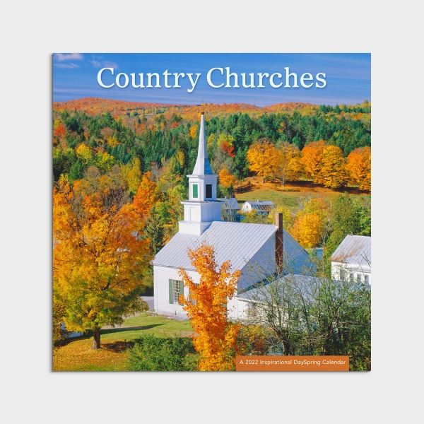 Country Churches - 2022 Wall Calendar