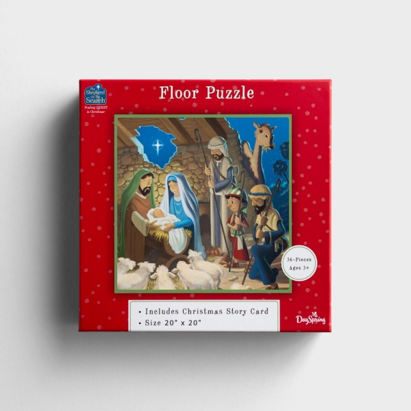 The Shepherd on the Search - Finding Christ in Christmas - Floor Puzzle