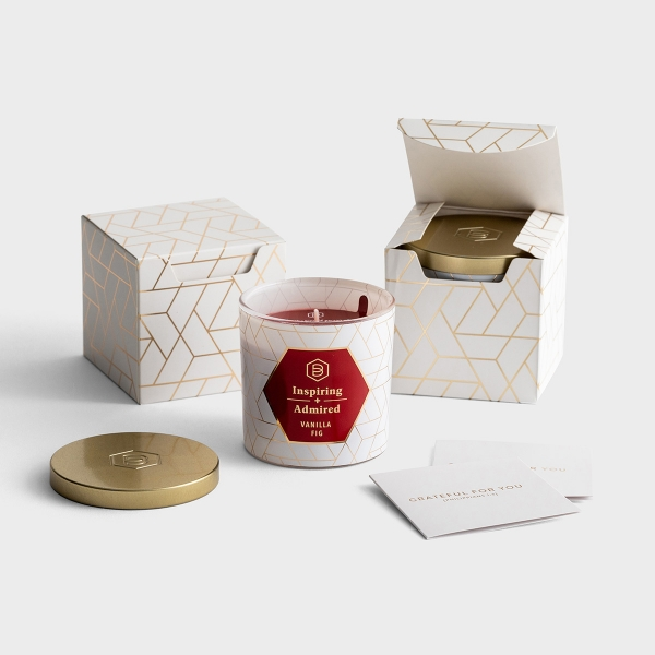 Candace Cameron Bure - Inspiring + Admired - Set of 2 Candles with Gift Boxes