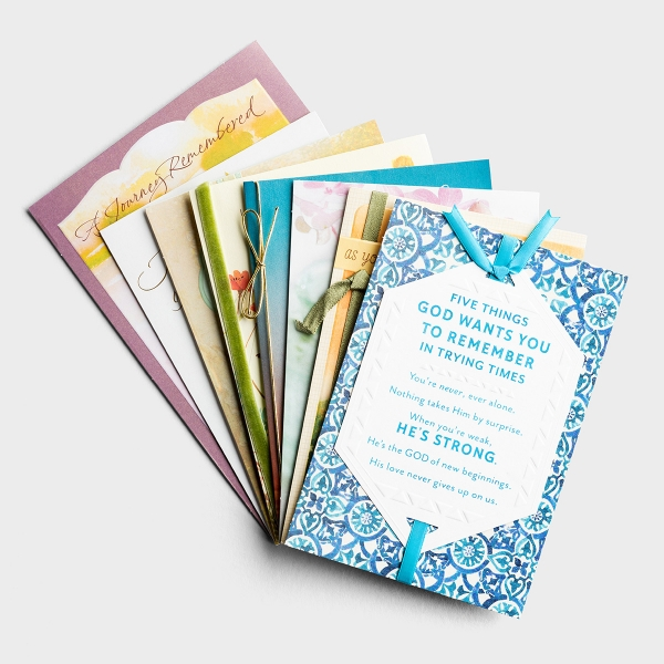 Sympathy and Encouragement - 8 Card Assortment Pack