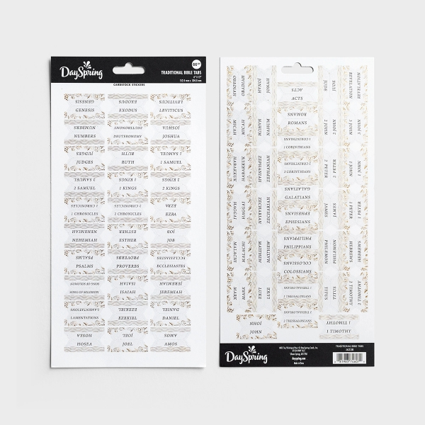 Traditional - Bible Tabs