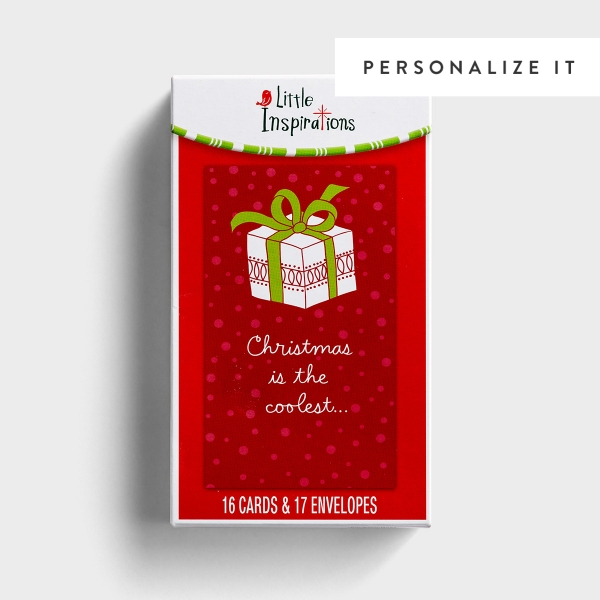 Little Inspirations - Christmas is the Coolest - 16 Christmas Boxed Cards
