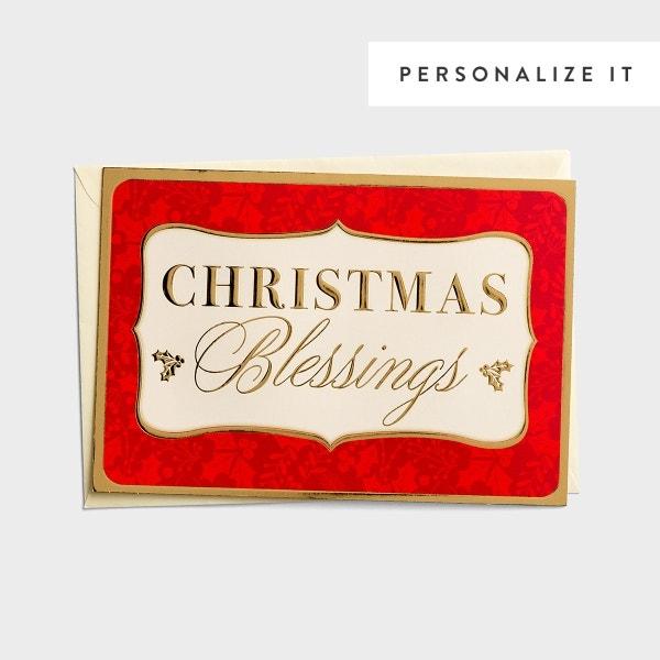 Christmas Blessings - Joys and Goodness of God - 18 Christmas Boxed Cards, KJV