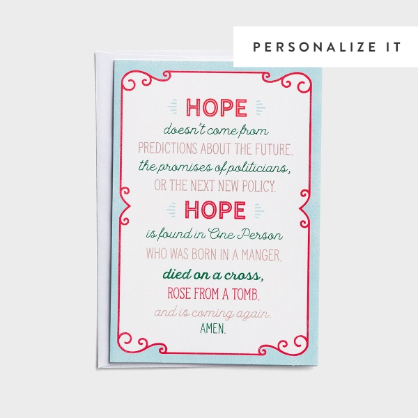 Good Steward - Hope is Found - 18 Christmas Boxed