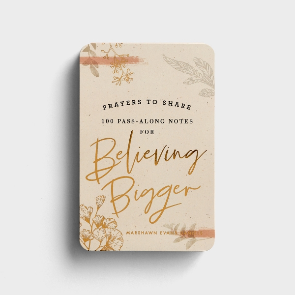 Marshawn Evans Daniels - Prayers to Share: 100 Pass-Along Notes for Believing Bigger