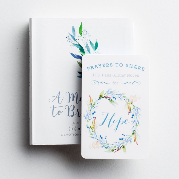 A Moment to Breathe - Devotional Journal & Pass-Along Notes Gift Set