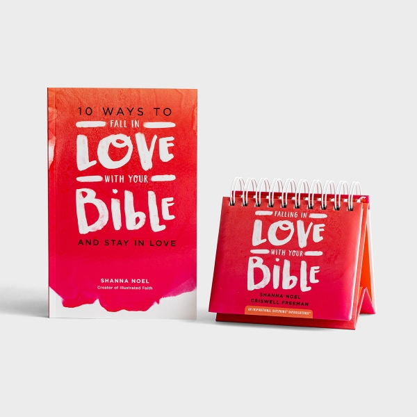 Shanna Noel - Falling in Love with Your Bible - Book & Perpetual Calendar Gift Set