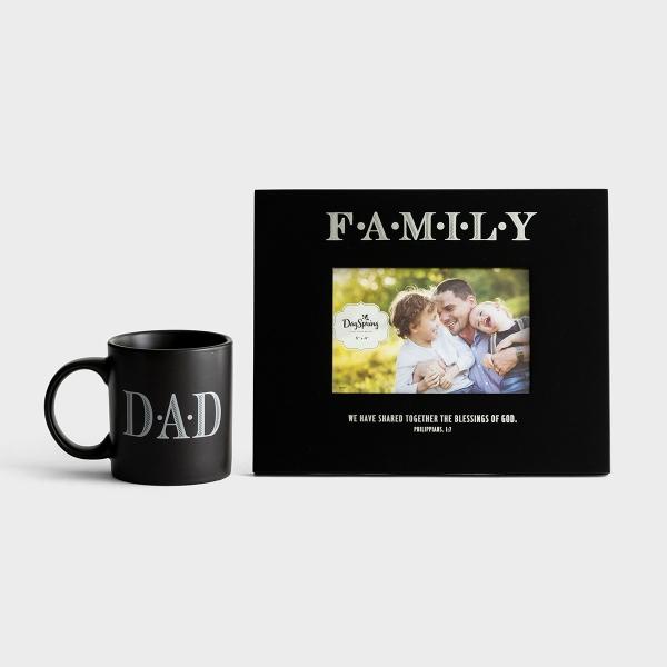 DAD - Mug & Frame - Gift Set