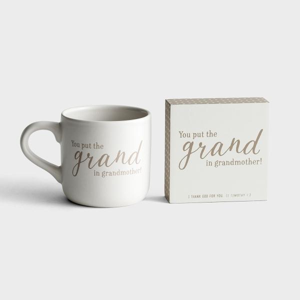 Grand Grandmother - Mug & Plaque - Gift Set