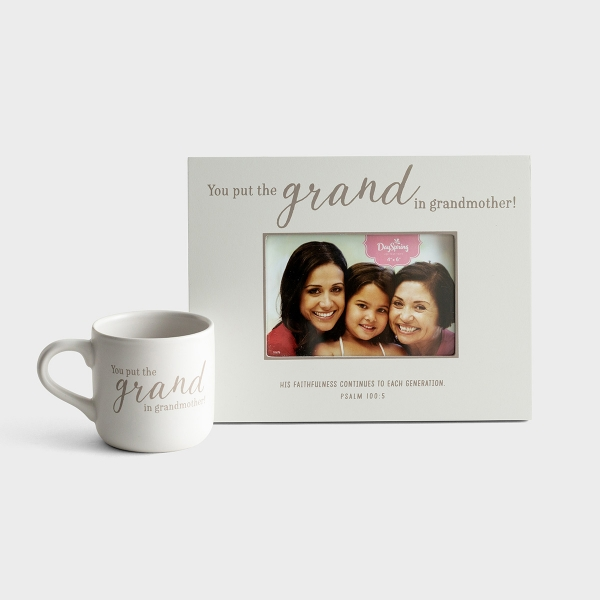 Grand Grandmother - Frame & Mug - Gift Set