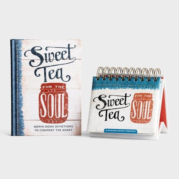 Sweet Tea For The Soul - Devotional & Perpetual Calendar - Gift Set