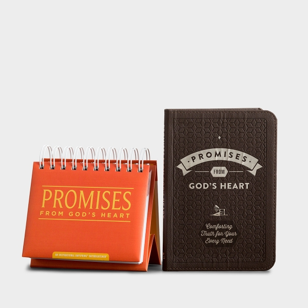 Promises from God's Heart - Devotional & Perpetual Calendar Gift Set
