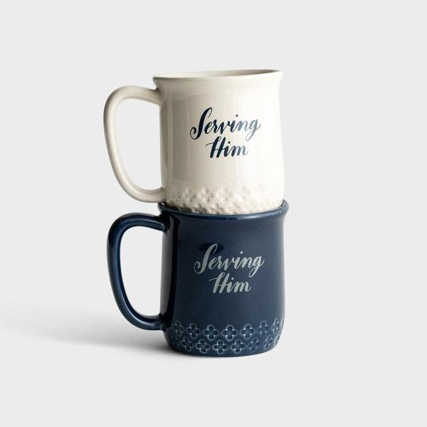Serving Him - Mug Gift Set - Set of 2