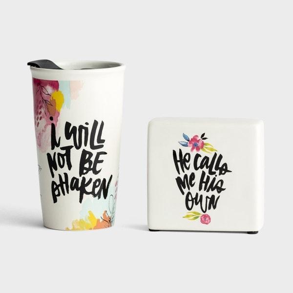 Katygirl - Ceramic Tumbler & Plaque Gift Set