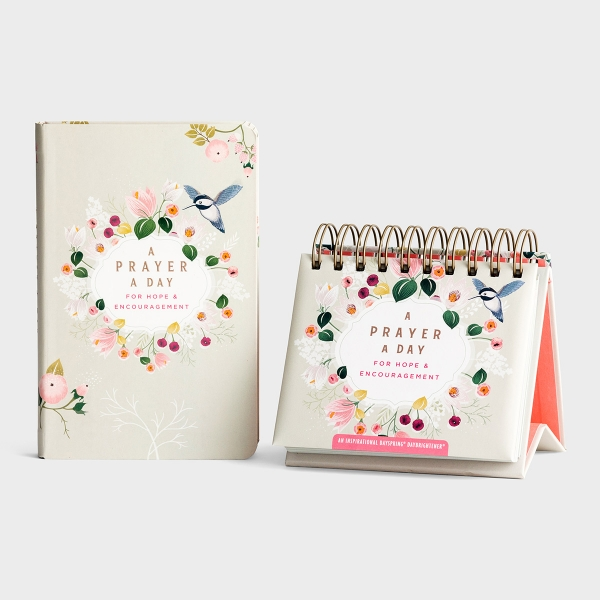 A Prayer A Day - Perpetual Calendar & Devotional Gift Set
