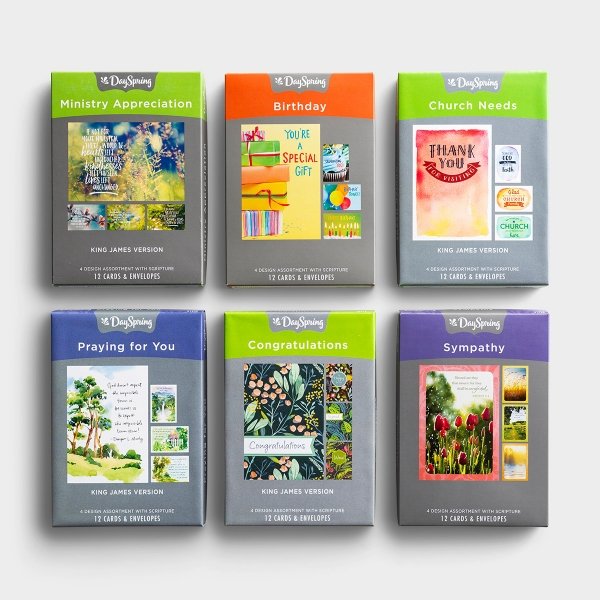 Ministry Needs - Bundle of 6 Boxed Cards