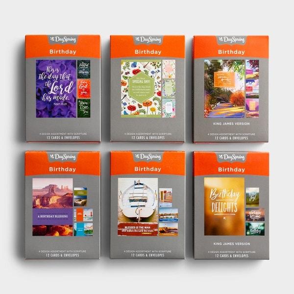 Birthday - Best Sellers - Bundle of 6 Boxed Cards