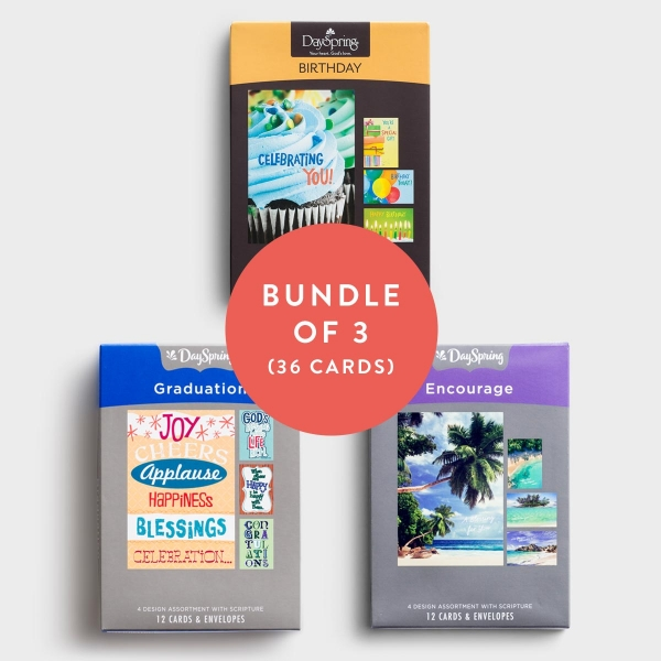 DaySpring offers Inspirational Cards, including Boxed Cards and Premium Cards!