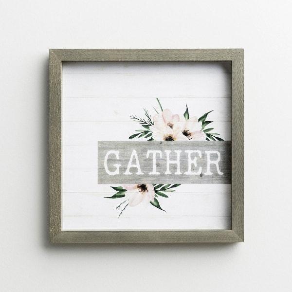 Gather - Framed Wall Art
