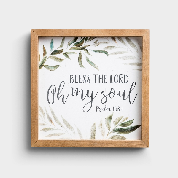 Bless The Lord - Framed Wall Art