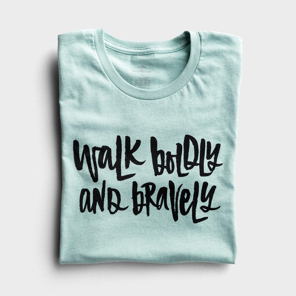 Katygirl - Walk Boldly and Bravely - Relaxed Fit T-Shirt