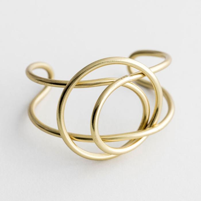 Coil Wrap Bracelet - Gold